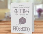 Knitting card, Knitters c...