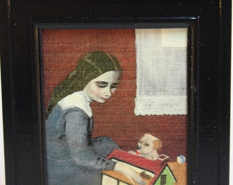 Dollhouse Miniature Limited Edition Numbered Print by Gilbert Mena (1/12 Scale)