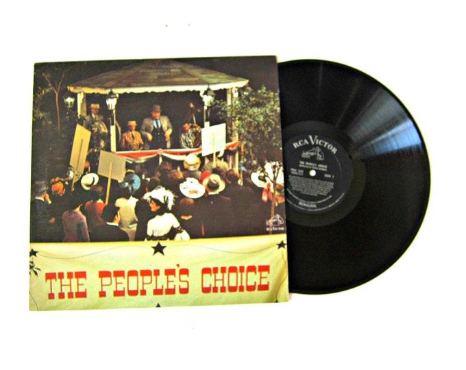 The People's Choice American folk Festival Vinyl Album 12 Inch LP Vintage RCA Music Record Album