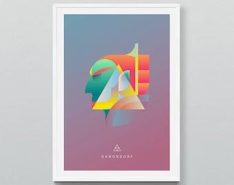 Georaits - The Triforce Series - Ganondorf