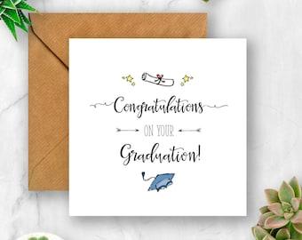 Congratulations On Your Graduation Card