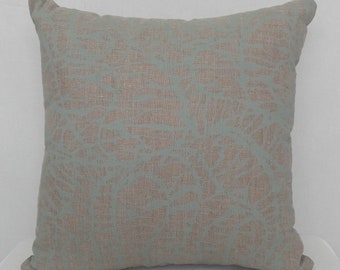 Cushion - Shoal in Light Eucalyptus