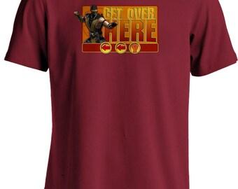 Mortal Kombat- Scorpion - Get over here T-shirt