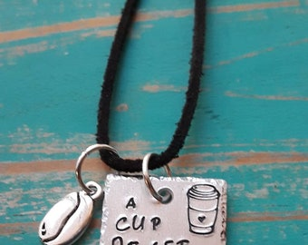 Charm/pendant/coffee lovers/necklace/key chain