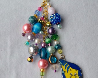 Disney Little Mermaid Purse Charm Keychain
