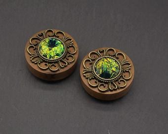 "Plugs ""Paint it Emerald"" (38-50 mm)"