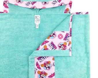 Paw Patrol Girl Hooded Towel