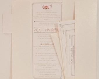 Gatsby wedding invitation, gatsby wedding invitations, gatsby invitations, gatsby invitation, gatsby invite, gatsby invites, vintage invites