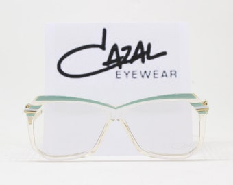 Cazal glasses, MOD 181, frame West Germany, designer eyewear, original 80s, clear lens, spectacles eyeglasses