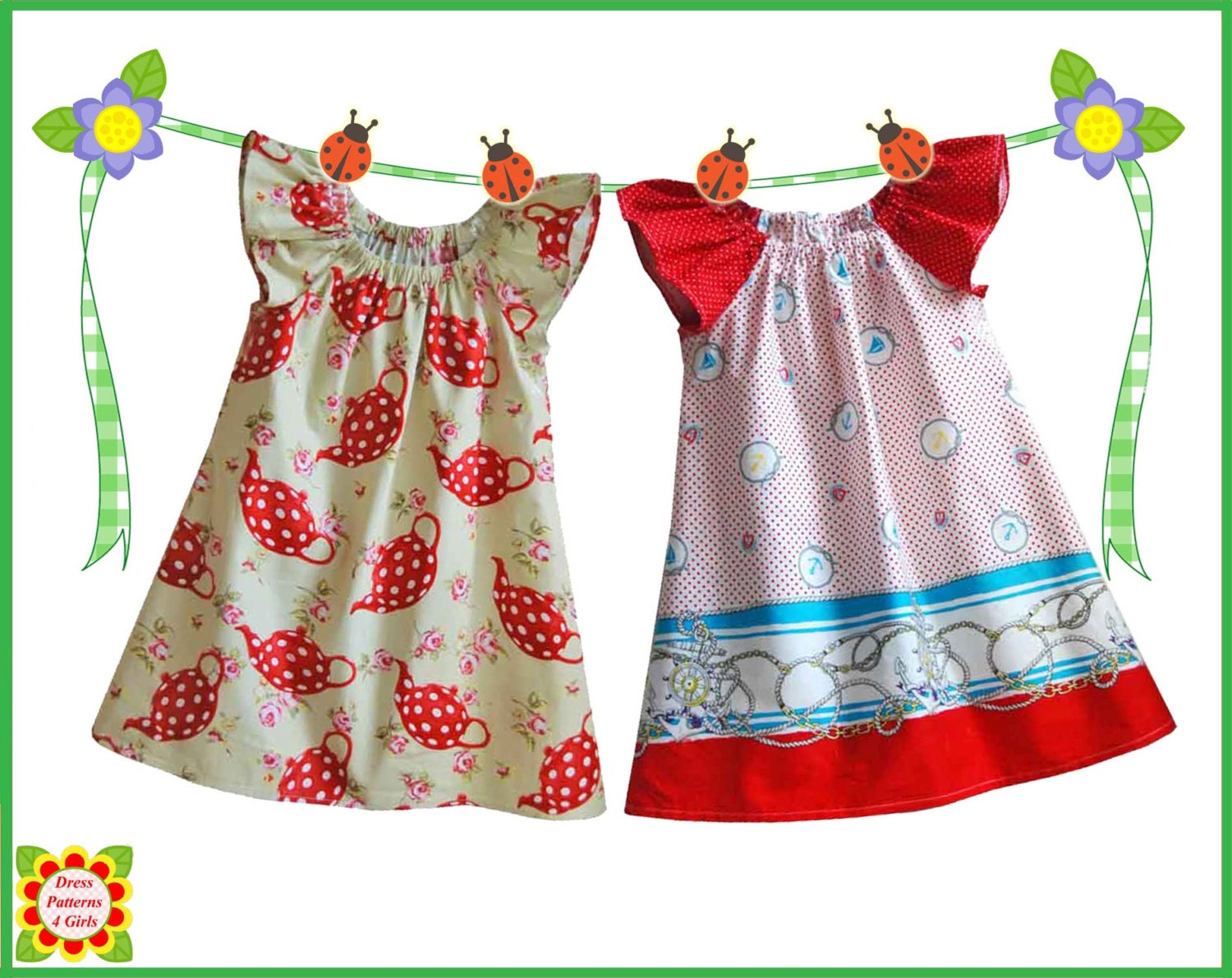 Cecilia sewing pattern for children free mother daughter zoom ombrellifo Gallery