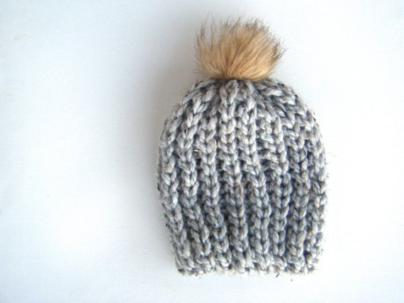 Chunky Knit Baby Hat Patterns Adults
