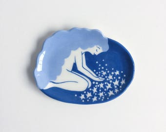 Girl with Stars Ringdish