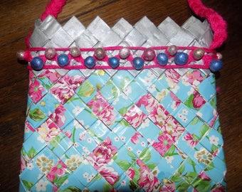 handbag braid in wrapping paper