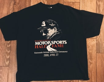 Dale Earnhardt Motot Sports Hall of Fame T-Shirt