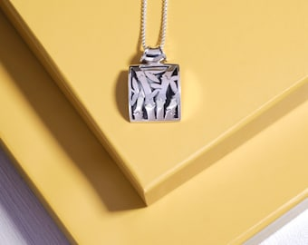 Best Selling, Bamboo Silver Pendant (w/o Necklace), Balinese Jewelry, 925 Sterling Silver, Fine Quality