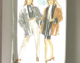 Jacket Pattern in size 8-20 by New Look.