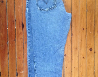 Vintage Levis Mom Jeans High Waisted