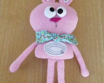 Randy the bunny,soft toy,unique toy,gift for kids,plush toy,handmade doll,baby shower gift,stuffed bunny,birthday gift,cuddle toy,fabric toy