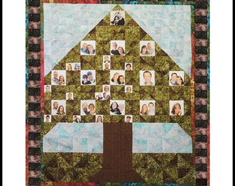 Family Tree Quilt Pattern, OP by Sisters' Common Thread
