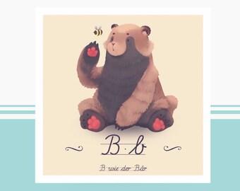 Tier-ABC - B wie Bär