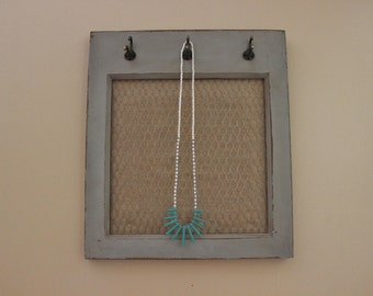 Turquoise Spiked Necklace