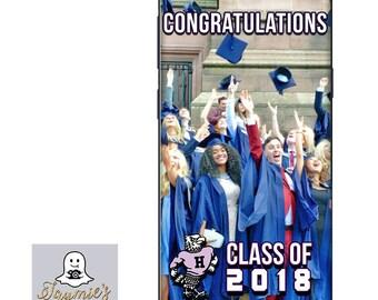 Custom Highschool Mascot Graduation SnapChat Filter - Class of 2017