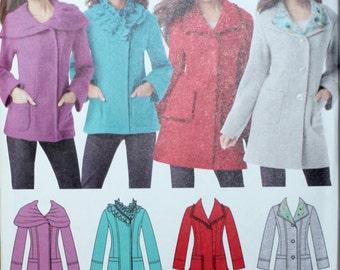 Simplicity 1540 Misses / Miss Petite Jacket Sewing Pattern New/Uncut Size 14, 16, 18, 20, 22