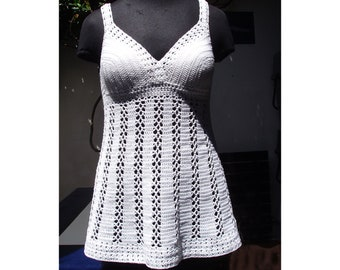 Livorno Lace Top - Crochet Pattern - Instant Download