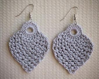 2 inch Pineapple Earring Design - Instant download - Crochet PATTERN (pdf file) – Jewelry - Crochet Earing Design #5/101 Pattern