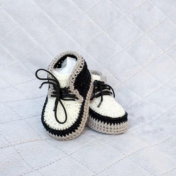 Crochet bebé zapatillas botines recién nacidos del ganchillo
