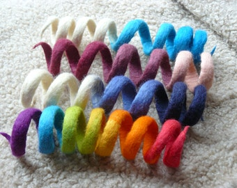 Felted cat  toy/ Rainbow Serpent