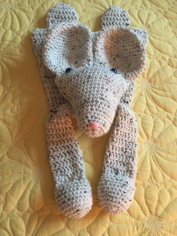 Oatmeal/Cream Mouse Rag Doll Toy/Lovey