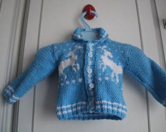 Babies Reindeer Cardigan