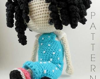Emma - Amigurumi Doll Crochet Pattern PDF