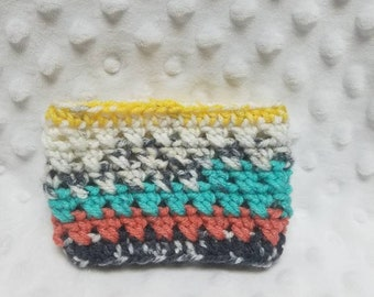 Multi-Colored Cup Cosy, Small Gifts, Stocking Stuffers, Easter Basket