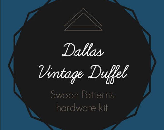 Dallas Vintage Duffel - Swoon Hardware Kit