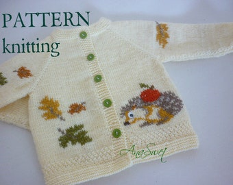 Knitting pattern  Hedgehog P060