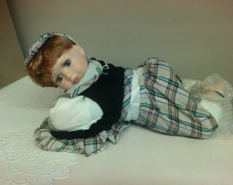 Knightsbridge Collection Limited Edition Doll. Boy.