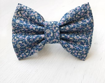 Lavender Field's Dog Bow Tie