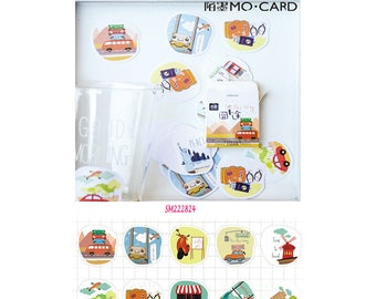 On The Way Stickers Pack SM222824 45pcs