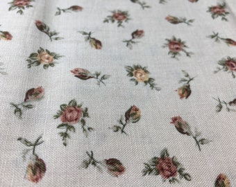 Vintage Fabric-Yardage Fabric Collection-Floral Quilting Fabric-Royal Albert Limited by The Woodrow Studios London-Textiles Fabrics-Quilters