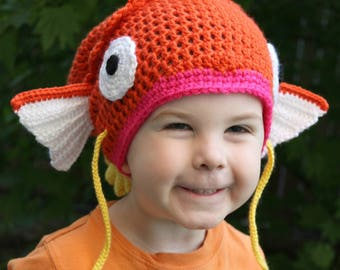 Magikarp Inspired Hat Toddler Kids and Adult