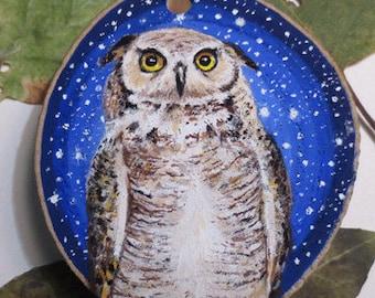 Eagle Owl wall hanging