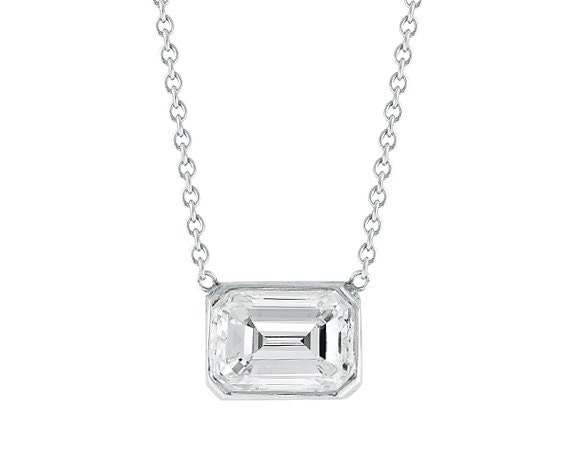 Diamond solitaire necklace diamond necklace solitaire aloadofball Choice Image