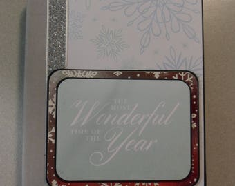 Wonders of Winter Christmas Envelope Mini Album