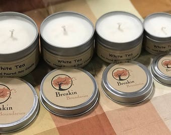 White Tea - Hand Poured Soy Candles