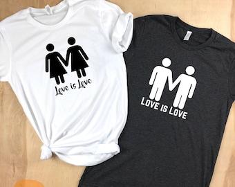 Love is love, Love is love shirt, gay shirt, lesbian shirt, equality shirt, gay pride shirt, bi shirt, LGBTQ shirt, pride week, pride shirt