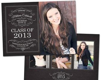 Blocks senior graduation announcement card template senior graduation announcement card template for photographers photoshop templates for photographers photo card template gd110 maxwellsz