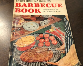 Vintage Better Homes & Gardens Barbecue Book