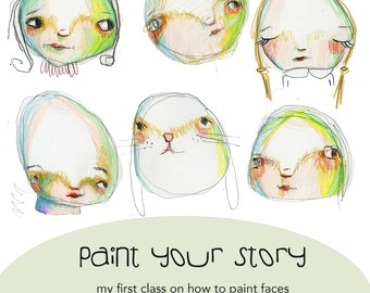 RETIREMENT SALE !!!! Paint Your Story online class